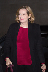 London - Home Secretary Amber Rudd arrives at the BBC's Broadcasting House in London to appear on the Andrew Marr Show. February 04 2018.
