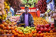 Fruit stall in Dhaka Bangladesh