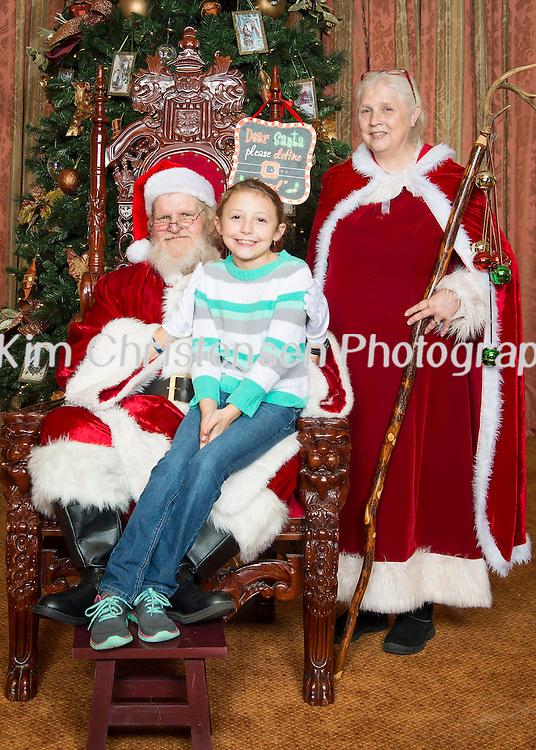 Santa at Hotel Galvez 11/27/15. (Photos by ©Kim Christensen)