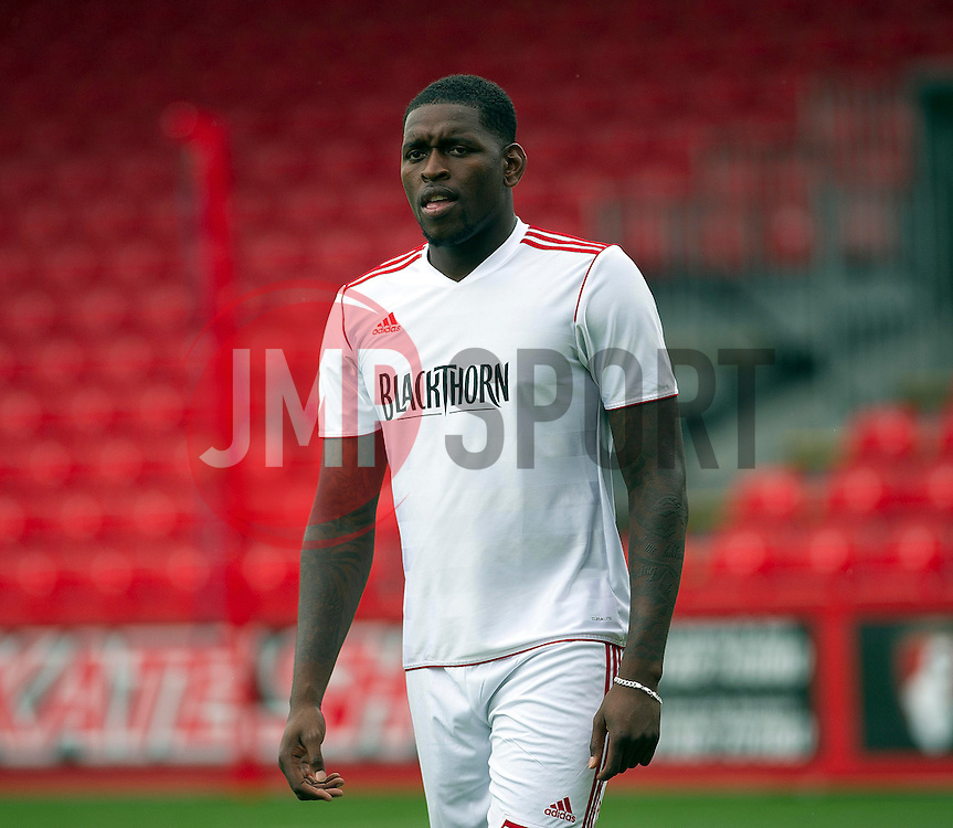 Bristol City's Jay-Emmanuel Thomas - Photo mandatory by-line: Dougie Allward/JMP - Tel: Mobile: 07966 386802 27/03/2013 - SPORT - FOOTBALL - Goldsands Stadium - Bournemouth -  Bournemouth V Bristol City - Pre Season friendly