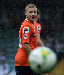 Scott Griffiths of Luton Town - Photo mandatory by-line: Harry Trump/JMP - Mobile: 07966 386802 - 22/08/15 - SPORT - FOOTBALL - Sky Bet League Two - Yeovil Town v Luton Town - Huish Park, Yeovil, England.