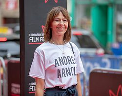 The Edinburgh International Film Festival Opening Night Premiere features the film Puzzle. Directed by Mark Turtletaub it stars Kelly Macdonald and Irrfan Khan. <br /> <br /> Pictured: Kate Dickie