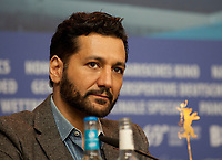 Actor Cas Anvar at the press conference for the film The Operative (Die Agentin) at the 69th Berlinale International Film Festival, on Sunday 10th February 2019, Hotel Grand Hyatt, Berlin, Germany.