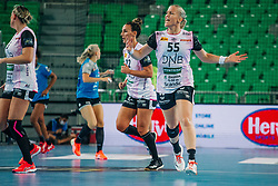 Heidi Løke of Norway during handball match between RK Krim Mercator (SLO) and Vipers Kristiansand (NOR), on September 12, 2020 in Arena Stožice, Ljubljana, Slovenia. Photo by Sinisa Kanizaj / Sportida