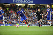 Chelsea striker Michy Batshuayi (23) dribbling during the EFL Cup match between Chelsea and Bristol Rovers at Stamford Bridge, London, England on 23 August 2016. Photo by Matthew Redman.