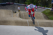 #909 (KATYSHEV Alexander) RUS at the 2016 UCI BMX Supercross World Cup in Papendal, The Netherlands.
