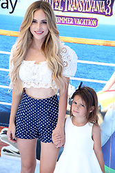July 1, 2018 - Los Angeles, California, USA - 6/30/18.Amanda Stanton and her daughter Kinsley Buonfiglio at the premiere of ''Hotel Transylvania 3: Summer Vacation'' held at the Westwood Village Theatre in Los Angeles, CA. (Credit Image: © Starmax/Newscom via ZUMA Press)