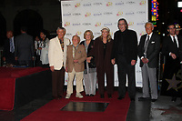 11/3/2010 Roger Williams, Mickey and Jan Rooney, Diane Ladd, Jim Ladd and Bob Barker attend the Hollywood Walk of Fame's 50th anniversary party.