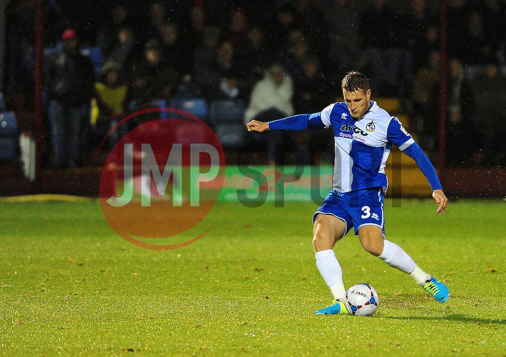 - Photo mandatory by-line: Neil Brookman/JMP - Mobile: 07966 386802 - 11/11/2014 - SPORT - Football - Derbyshire - North Street - Alfreton Town v Bristol Rovers - Vanarama Conference