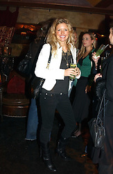 LAINEY SHERIDAN-YOUNG at a party to launch Riggid - T-shirt Couture held at Momo's Kemia Bar, 25 Heddon Street, London W1 on 18th November 2004.<br /><br />NON EXCLUSIVE - WORLD RIGHTS