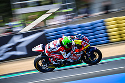 May 18, 2018 - Le Mans, France - 9 JORGE NAVARRO (ESP) FEDERAL OIL GRESINI MOTO2 (ITA) KALEX MOTO2 (Credit Image: © Panoramic via ZUMA Press)