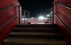 """General view of St Mary's Stadium ahead of the Premier League match between Southampton and Crystal Palace. PRESS ASSOCIATION Photo. Picture date: Tuesday January 2, 2018. See PA story SOCCER Southampton. Photo credit should read: Andrew Matthews/PA Wire. RESTRICTIONS: EDITORIAL USE ONLY No use with unauthorised audio, video, data, fixture lists, club/league logos or """"live"""" services. Online in-match use limited to 75 images, no video emulation. No use in betting, games or single club/league/player publications."""