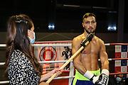 Boxen: Giants Professional Boxing Serie, Hamburg, 07.11.2020<br /> Weltergewicht: Edison Zani (GER) - Naqibullah Nazari (GER)<br /> © Torsten Helmke