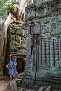 Ta Prohm, at Angkor Archaeological Park in Siem Reap, Cambodia.