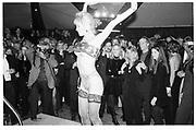 Stripper at David Koch's New years eve party, New York1995, Aspen © Copyright Photograph by Dafydd Jones 66 Stockwell Park Rd. London SW9 0DA Tel 020 7733 0108 www.dafjones.com