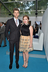 TANYA BURR and JIM CHAPMAN at the Glamour Women of The Year Awards held in Berkeley Square, London on 2nd June 2015.