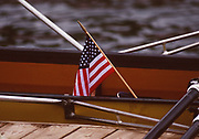 Atlanta, USA,   Stars and Strips, at the 1996, Olympic Rowing Regatta at Lake Lanier, Gainsville Georgia,  [Photo Peter Spurrier/Intersport Images]