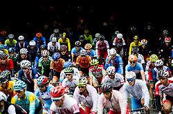 September 22, 2017 - Bergen, NORWAY - 170922 The peloton during the Men Under 23 Road Race on September 22, 2017 in Bergen..Photo: Vegard Wivestad GrÂ¿tt / BILDBYRN / kod VG / 170024 (Credit Image: © Vegard Wivestad Gr¯Tt/Bildbyran via ZUMA Wire)