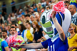 Official mascot during volleyball match between Cuba and Slovenia in Final of FIVB Volleyball Challenger Cup Men, on July 7, 2019 in Arena Stozice, Ljubljana, Slovenia. Photo by Matic Klansek Velej / Sportida