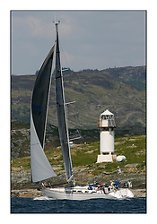 Bell Lawrie Scottish Series 2008. Fine North Easterly winds brought perfect racing conditions in this years event...CYCA Class 9, 8080C, Scanne, Gordon Aikman, CCC/FYC, Sweden 42