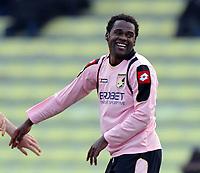 Fotball<br /> Italia<br /> Foto: Inside/Digitalsport<br /> NORWAY ONLY<br /> <br /> esultanza di Fabio SIMPLICIO.<br /> <br /> 14.03.2010<br /> Udinese v Palermo<br /> Campionato Italiano Serie A 2009/2010