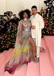 Priyanka Chopra and Nick Jonas attending the Metropolitan Museum of Art Costume Institute Benefit Gala 2019 in New York, USA.
