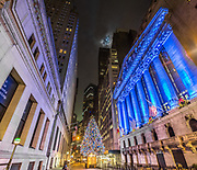 Wall Street FiDi Christmas Tree, NYC
