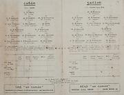 All Ireland Senior Football Final, Cavan v Galway, 24.09.1933, 09.24.1933, 24th September 1933, 24091933AISFCF, Cavan 2-05 Galway 1-04, .Cavan, W Young, W Connolly, P Lynch, M Dennehy, T Coyle, J Smith captain, P Phair, H O'Reilly, T O'Reilly, D Morgan, P Devlin, J Smallhorn, V McGovern, L Blessing, M McGee, subs, T O'Reilly, T Crowe, P Brady, P McNamee, J Rahill, .Galway, M Brennan, H Carey, M Connaire, D O'Sullivan, T Hughes, T MacCarthy, F Fox, M Kelly, J Dunne, F Burke, B Nestor, M Higgins, J Kelleher, M Donnellan Captain, D MItchell, subs, E O'Toole, F Morris, W Burnell, T Leetch, PJ Morris, M Stewart,
