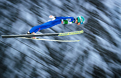 16.12.2017, Gross Titlis Schanze, Engelberg, SUI, FIS Weltcup Ski Sprung, Engelberg, im Bild Michael Hayboeck (AUT) // Michael Hayboeck of Austria during Mens FIS Skijumping World Cup at the Gross Titlis Schanze in Engelberg, Switzerland on 2017/12/16. EXPA Pictures © 2017, PhotoCredit: EXPA/JFK