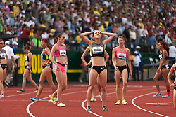 Olympic Trials Eugene 2012: women's 1500 meters, finish, Shannon Rowbury