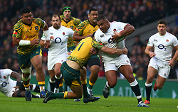 November 24, 2018 - London, England, United Kingdom - London, UK, 24 November, 2018.Kyle Sinckler of England     .during Quilter International between England  and Australia at Twickenham stadium , London, England on 24 Nov 2018. (Credit Image: © Action Foto Sport/NurPhoto via ZUMA Press)