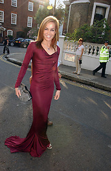 TARA PALMER-TOMKINSON at Sir David & Lady Carina Frost's annual summer party held in Carlyle Square, Chelsea, London on 5th July 2006.<br /><br />NON EXCLUSIVE - WORLD RIGHTS