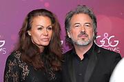 Karina Berger mit ihrem Mann Thomas Russenberger anlässlich der Glory-Verleihung 2018.