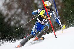 LARSSON Markus of Sweden competes during the 1st Run of 10th Men's Slalom - Pokal Vitranc 2013 of FIS Alpine Ski World Cup 2012/2013, on March 10, 2013 in Vitranc, Kranjska Gora, Slovenia. (Photo By Vid Ponikvar / Sportida.com)