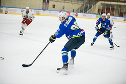 Gregor Koblar during Ice Hockey match between National teams of Slovenia and Belarus at International tournament Euro ice hockey Challenge 2019, on February 9, 2019 in Ice Arena Bled, Slovenia. Photo by Peter Podobnik / Sportida