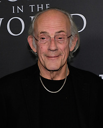 All The Money in the World Premiere - Los Angeles. 18 Dec 2017 Pictured: Christopher Lloyd. Photo credit: Jaxon / MEGA TheMegaAgency.com +1 888 505 6342