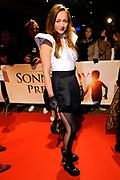 Premiere van de film Sonny Boy op maandag 17 januari in het Circus Theater in Scheveningen.<br /> <br /> Op de foto:<br /> <br />  Carolien Spoor