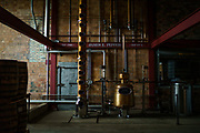 The distiller sits empty at James E Pepper Distillery.<br /> <br /> (Photo by William DeShazer)