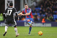 James McArthur of Crystal Palace in action. Barclays Premier League match, Crystal Palace v Chelsea at Selhurst Park in London on Sunday 3rd Jan 2016. pic by John Patrick Fletcher, Andrew Orchard sports photography.