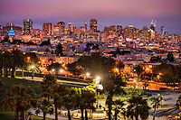 San Francisco Skyline from Dolores Park