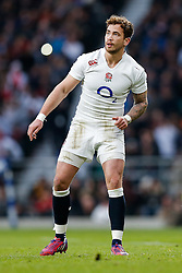 England replacement Danny Cipriani sees a conversion attempt go wide - Photo mandatory by-line: Rogan Thomson/JMP - 07966 386802 - 14/02/2015 - SPORT - RUGBY UNION - London, England - Twickenham Stadium - England v Italy - 2015 RBS Six Nations Championship.