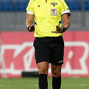 Referee's Onur Karabas during their friendly soccer match Turkey U21 betwen Netherlands U21 at Recep Tayyip Erdogan stadium in Istanbul September 08, 2012. Photo by TURKPIX