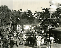 1937 Filming Wings Over Honolulu at Universal Studios