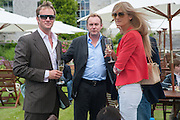 RUPERT PENRY JONES; PHILIP GLENISTER; RUTH SVENSSON, The Cartier Style et Luxe during the Goodwood Festivlal of Speed. Goodwood House. 1 July 2012.