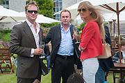 RUPERT PENRY JONES; PHILIP GLENISTER; RUTH SVENSSON, The Cartier Style et Luxe during the Goodwood Festivlal of Speed. Goodwood House. 1 July 2012.
