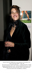 Artist TRACEY EMIN at a reception in London on 16th January 2001.OKL 34