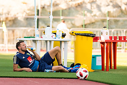 July 4, 2018 - Gelendzhik, Russia - 180704 Marcus Berg of the Swedish national football team at a practice session during the FIFA World Cup on July 4, 2018 in Gelendzhik..Photo: Petter Arvidson / BILDBYRN / kod PA / 92081 (Credit Image: © Petter Arvidson/Bildbyran via ZUMA Press)