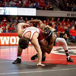 2020-02-07 UNC at NC State wrestling