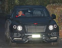 Jesse Lingard in his Bentley Bentayga 4x4.