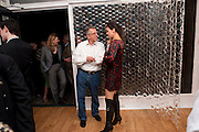 TREVOR WATKINS; TONI GALLAGHER, Relics of the Mind.- Private view of work by Katharine Dowson. GV Art, 49 Chiltern st. London. W1. 16 September 2010. -DO NOT ARCHIVE-© Copyright Photograph by Dafydd Jones. 248 Clapham Rd. London SW9 0PZ. Tel 0207 820 0771. www.dafjones.com.